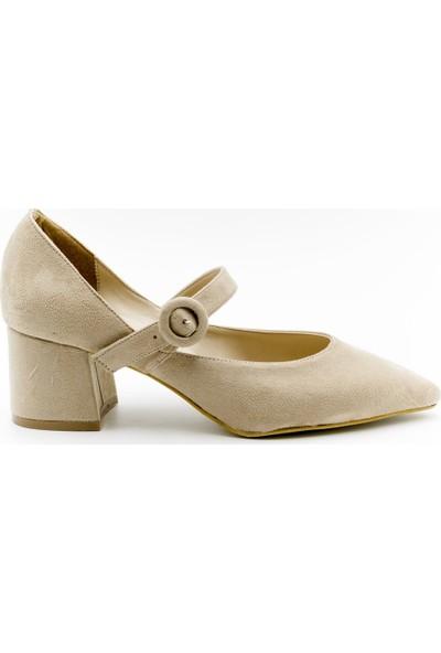 Filo Donna 8096 Filo Donna Kadın Ayakkabı Bej Süet