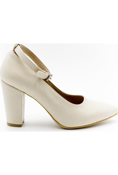 Aktenli 1832189 Kadın Ayakkabı Ten Cilt