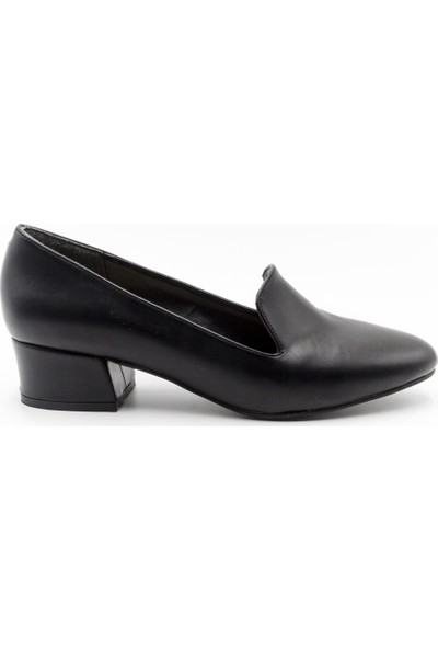 Filo Donna 8043 Filo Donna Kadın Ayakkabı Siyah Cilt