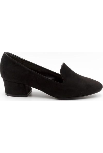Filo Donna 8043 Filo Donna Kadın Ayakkabı Siyah Süet