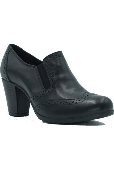 Scavia 18-390 Scavia Kadın Günlük Ayakkabı Siyah