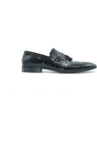 Tuğrul Ayakkabı 12304 Erkek Ayakkabı Siyah