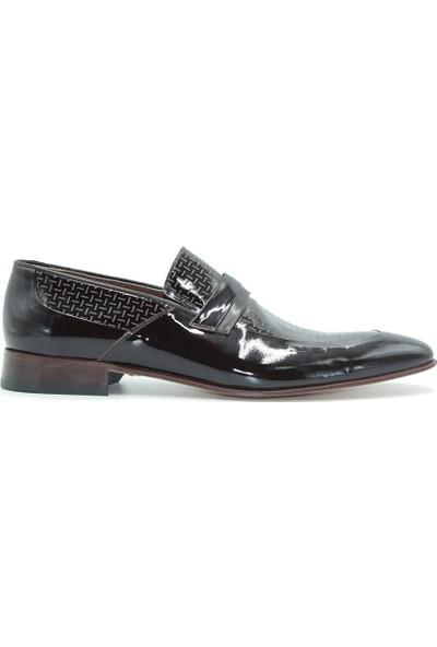 Tuğrul Ayakkabı 1213 Erkek Ayakkabı Kahve Rugan