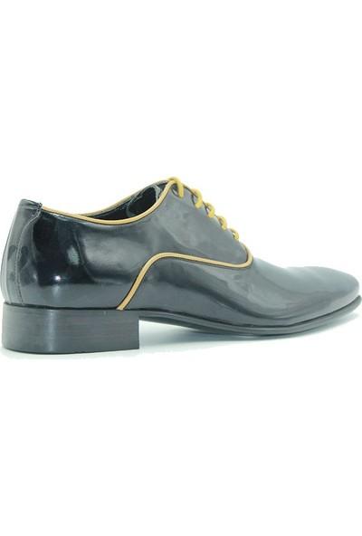 Tuğrul Ayakkabı 125 Cherchi Erkek Ayakkabı Siyah