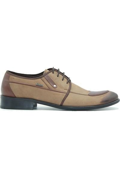 Tuğrul Ayakkabı 1240 Winsto Erkek Ayakkabı Vizon