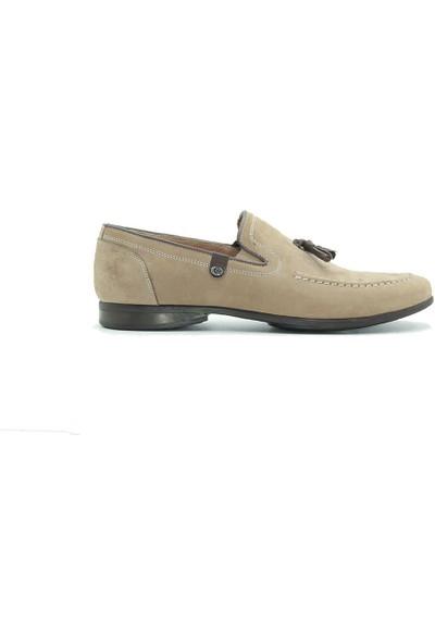 Tuğrul Ayakkabı 213 Erkek Günlük Ayakkabı Vizon Nubuk