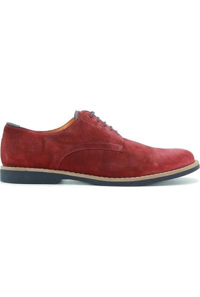 Tuğrul Ayakkabı 216 Erkek Günlük Erkek Bordo Nubuk