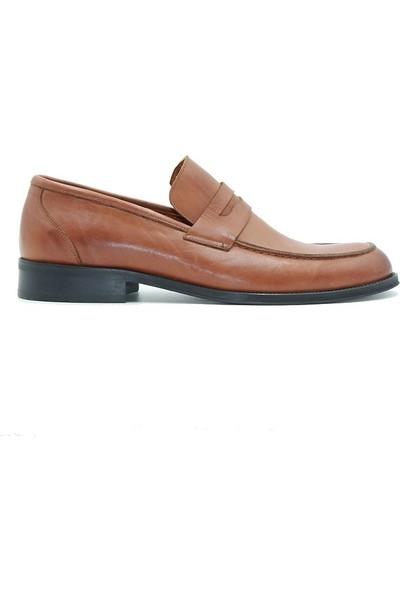 Tuğrul Ayakkabı 605 Erkek Ayakkabı Taba