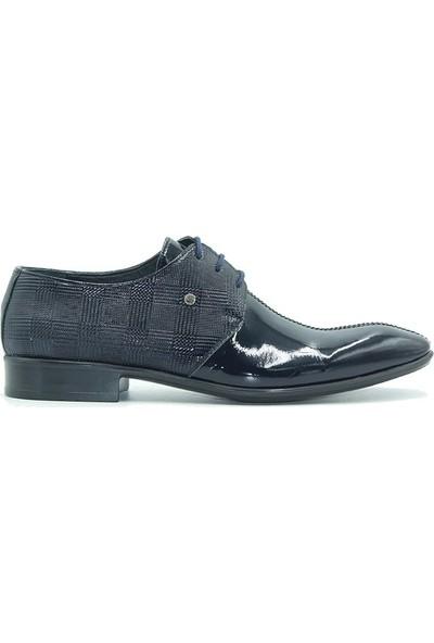 Tuğrul Ayakkabı 667 Erkek Bot Siyah Rugan