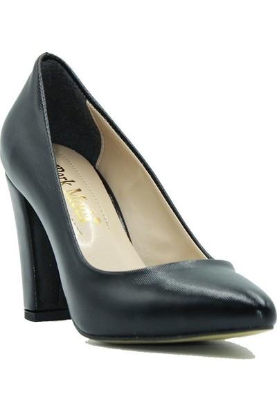 Park Moda 149-601 Park Moda Kadın Topuklu Ayakkabı Siyah