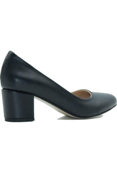 Park Moda 09-100 Park Moda Kadın Topuklu Ayakkabı Siyah