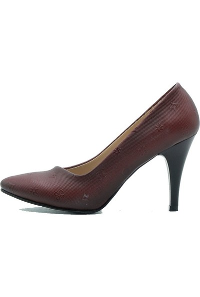 Aktenli 30165 Kadın Ayakkabı Bordo