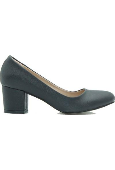 Aktenli 100 Kadın Ayakkabı Siyah