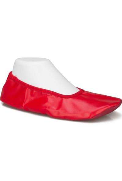 Pisi Pisi Yıl Sonu Gösteri Ayakkabısı Kırmızı
