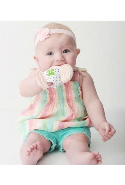 Mouthie Mitten Diş Kaşıyıcı Eldiven Pastel Pembe