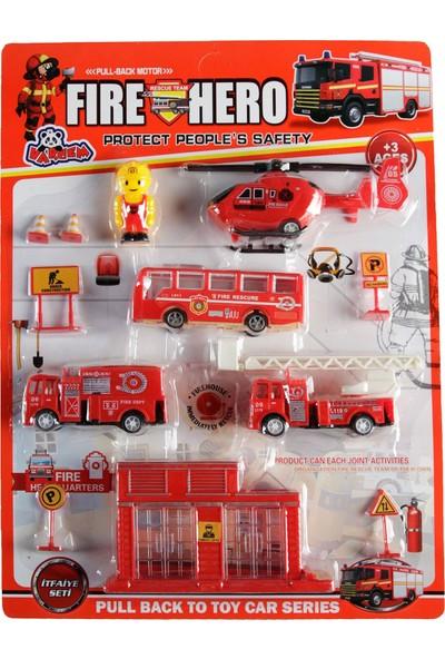 Vardem İtfaiye Araç Seti Kırmızı