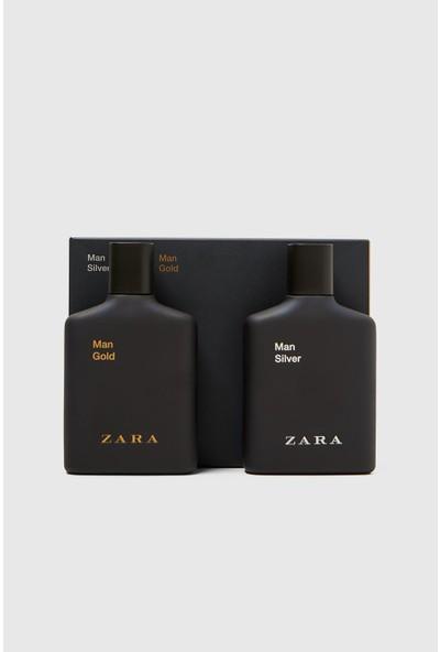 Zara Man Gold ve Silver Erkek Parfüm