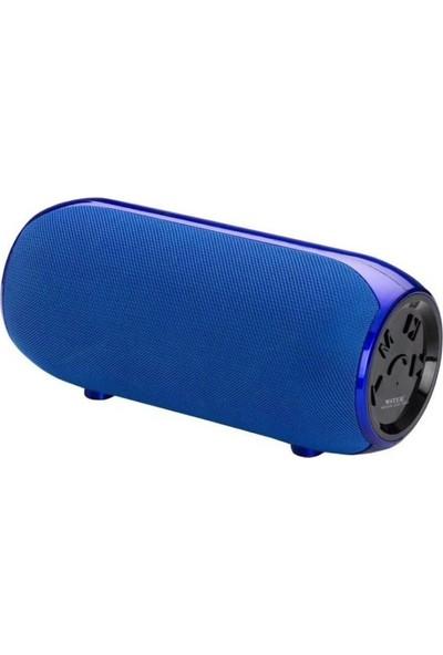 Wster WS-1603 Kablosuz USB/SD Süper Bass Speaker - Mavi