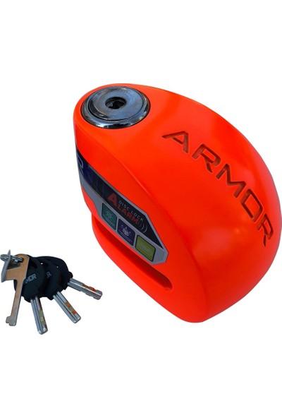 Armor 610MVA 10 mm Renkli Alarmlı Disk Kilidi