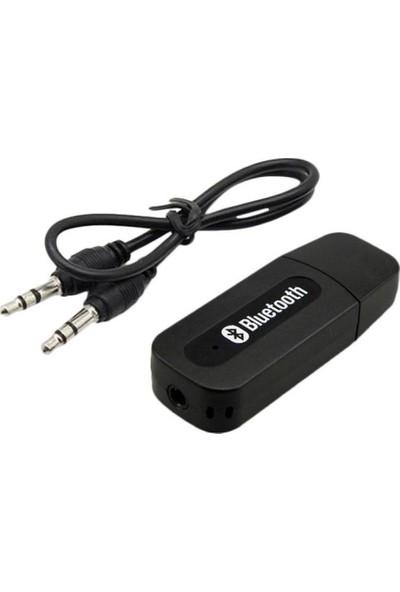 Streak Bluetooth USB Aux Kit Bluetooth Alıcı Müzik Dinleme Android Ios