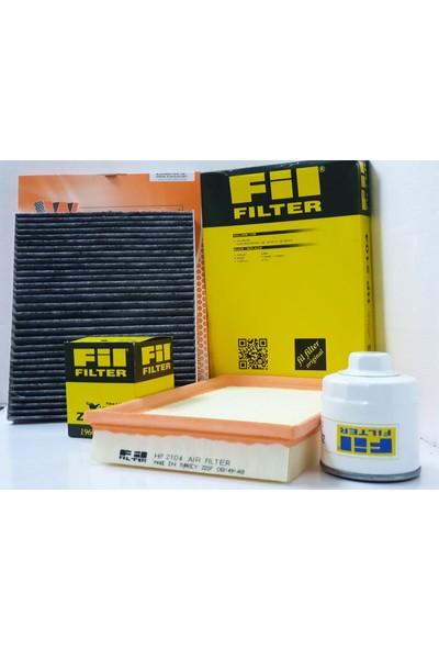 Waben + Fil Vw Polo 1.4 Filtre Bakım Seti (Karbonlu Polen İle) (2001-2008)