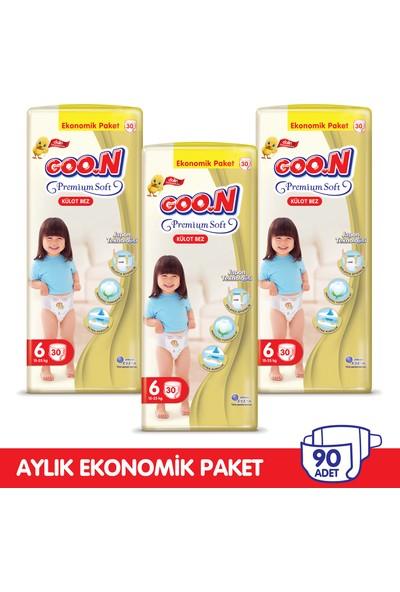 Goon Premium Soft Külot Bez 6 Beden Aylık Ekonomik Paket 90 Adet