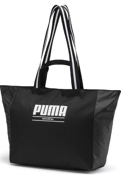 Puma Wmn Core Base Large Shopper Kadın Omuz Çantası - 07656901