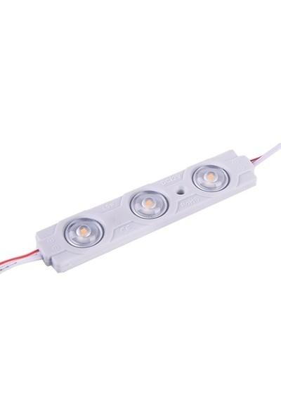 Kıraç Gün Işığı Üç Çipli Mercekli Modül LED 2835 1.5W 20'li