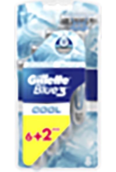 Gillette Blue3 Cool Serinletici 8'li Tıraş Bıçağı
