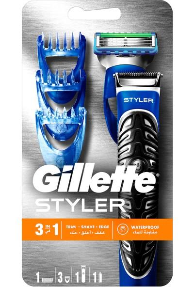 Gillete Fusion Proglide Styler 3'ü 1 Arada Tıraş Makinesi (Tıraş, Şekillendirme ve Düzeltme)