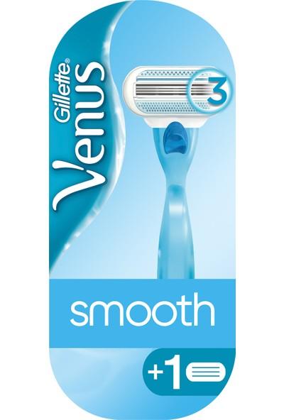 Gillette Venus Smooth Yedek Başlıklı Kadın Tıraş Makinesi
