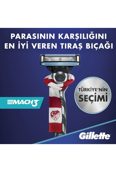 Gillette Mach3 Ekstra Konfor 75 ml Tıraş Jeli (Seyahat Boyu)