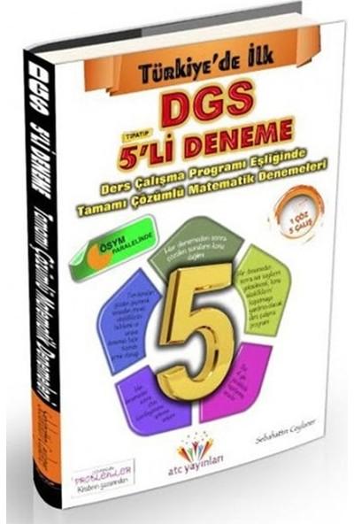 Dgs Tamamı Çözümlü 5'Li Matematik Deneme - Sebahattin Ceylaner