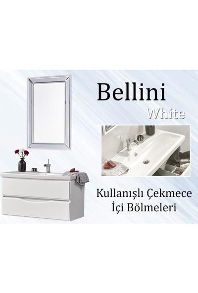 Gold Ban-Yom Bellini Banyo Mobilyası + Aynı Renk Seramik Lavabo