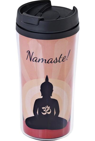 Allmug Iç-Dış Plastik Termos- Namaste