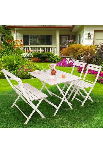 Laçes House Bahçe,bağ,villa,balkon Masa Sandalye Takımı Asl-01