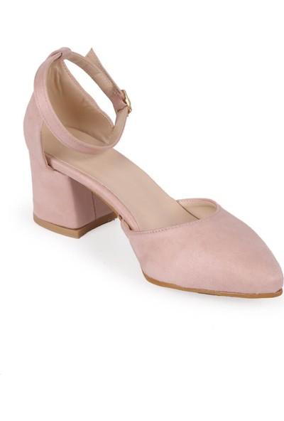 Mio Gusto Cristina Pudra Topuklu Ayakkabı