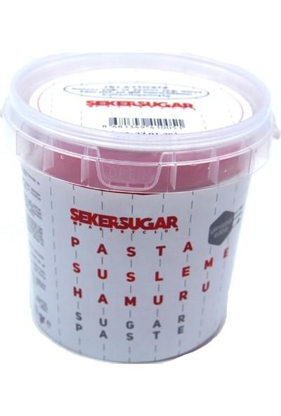 Şeker & Sugar Şeker Hamuru Kırmızı 1 kg