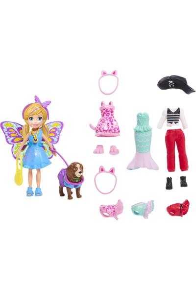 Polly Pocket ve Hayvan Dostu Kostüm Giyiyor Oyun Seti