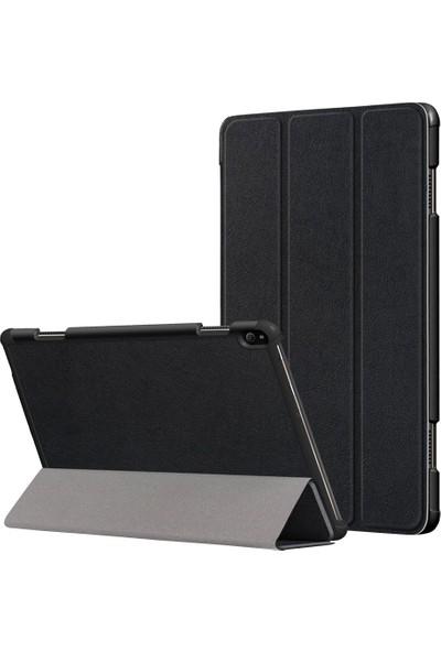GOB2C Lenovo Tab P10 TB-X705F TB-X705L 10.1 inç için Katlanabilen Kapaklı Kılıf