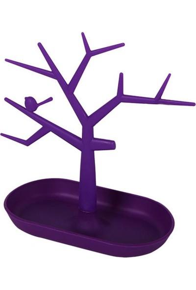 GOB2C Ağaç Takı Askısı Mor