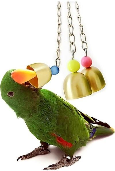 GOB2C Kuşlar İçin Ses Çıkaran Asorti Metal Çanlar