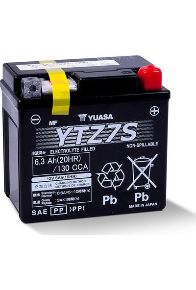 Yuasa YTZ7S Motosiklet Aküsü (Bmw G450 2009-2011)