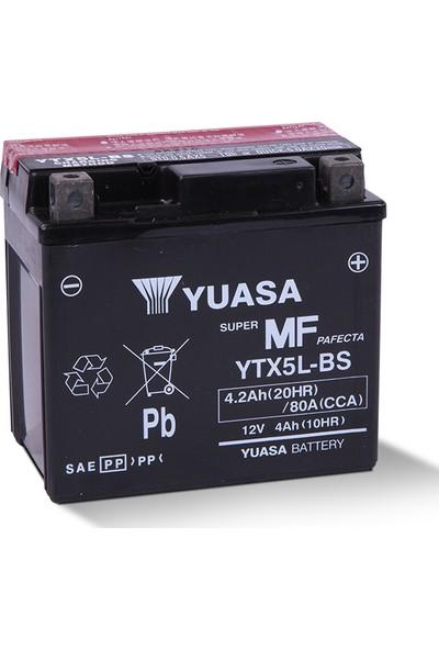 Yuasa YTX5L-BS Motosiklet Aküsü (Ktm 250 Exf 2005-2010)