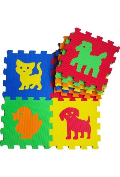 Matrax Oyuncak Eva Puzzle 33 x 33 cm x 7 mm 9 Adet
