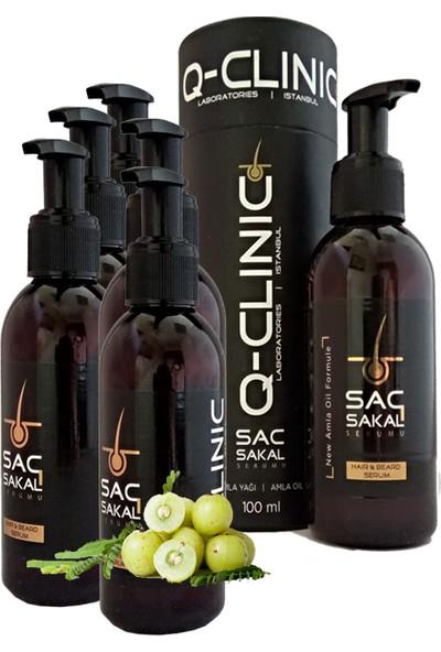 Q-Clınıc Hair & Beard Serum 100ml Saç ve Sakal Serumu 120 Günlük Kullanım