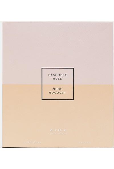 Zara Nude Bouquet + Cashmere Rose Edp 100 ml Kadın Parfüm