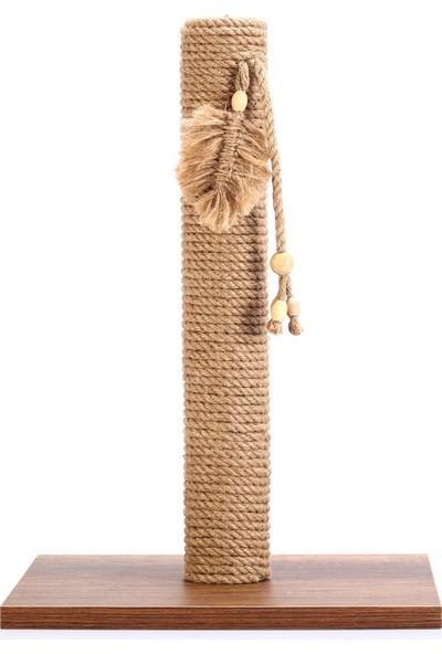 Petsi Walnut Kedi Tırmalama Tahtası 35 x 35 x 50 cm