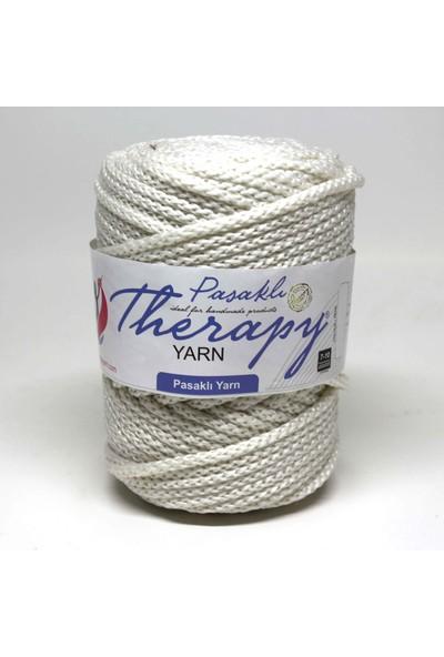 Therapy Yarn Kırık Beyaz Pasaklı Iplik