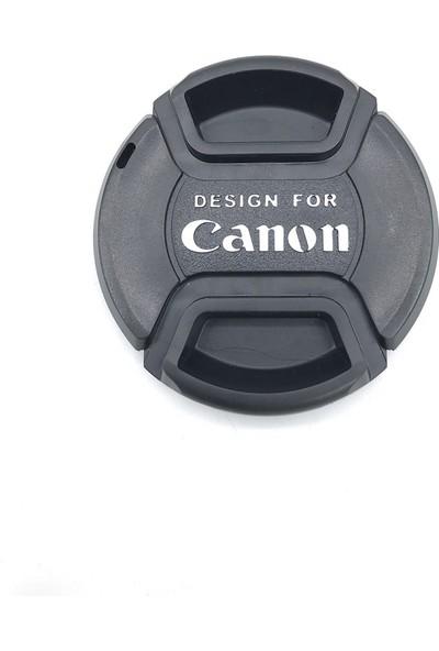 Canon Lens Için Objektif Ön Kapakları 58MM Canon Kapak